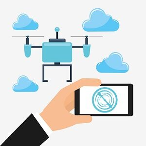 immagine vettoriale di drone